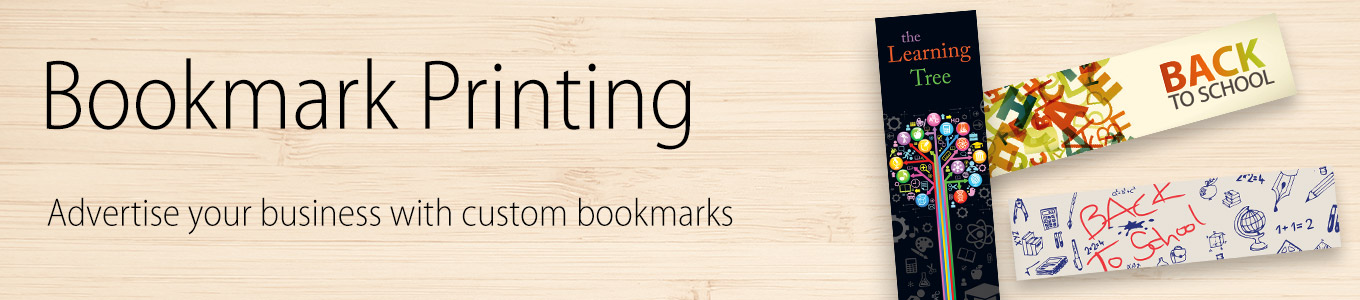 bookmark printing print your custom bookmarks with just press print