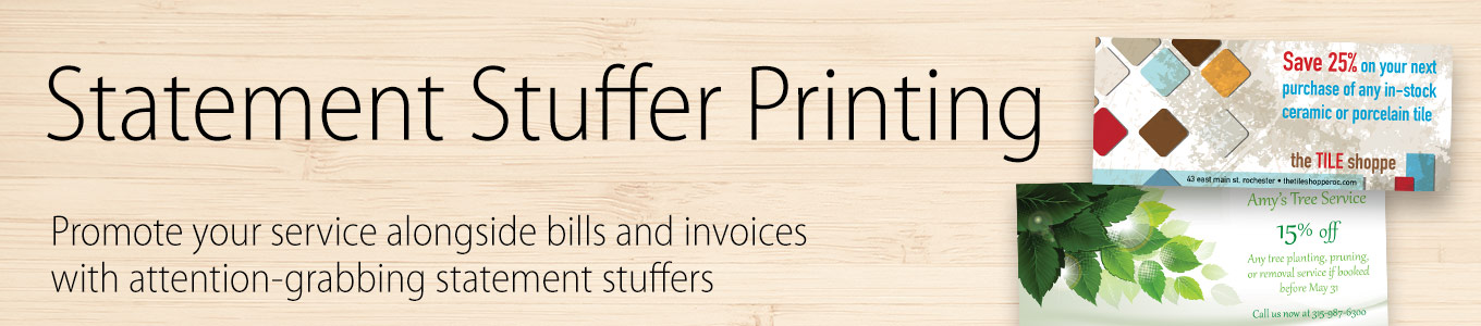 Statement Stuffer Printing