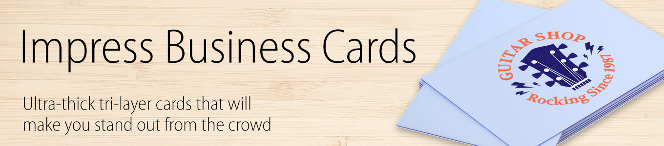 Tri-Layer Business Cards