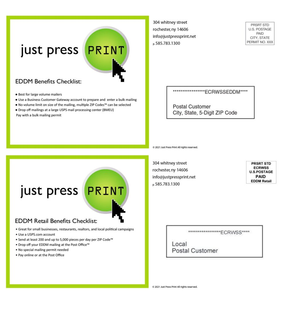 Direct Mail Service Benefits